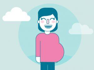 ¿Puedo ponerme brackets si estoy embarazada?