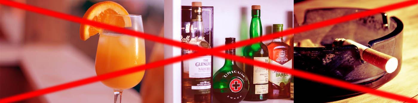 invisalign beber alcohol